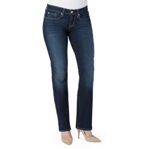 Levi's curvy stretch jeans